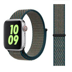NEW Crimson Green Strap Loop For Apple Watch